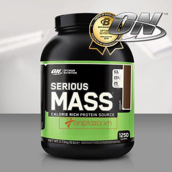 Serious mass là loại sữa bột tăng cânhàng đầu