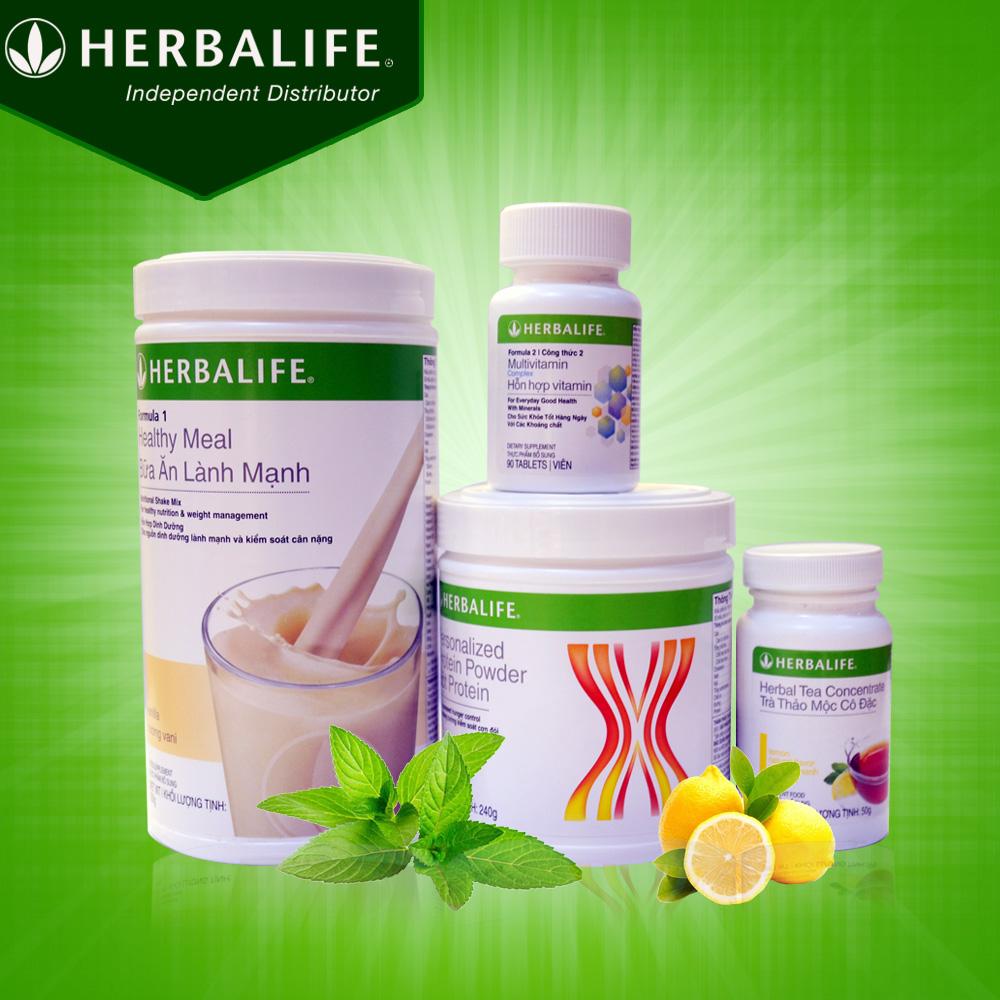 Tìm hiểu về bộ Sản phẩm Herbalife tăng cân