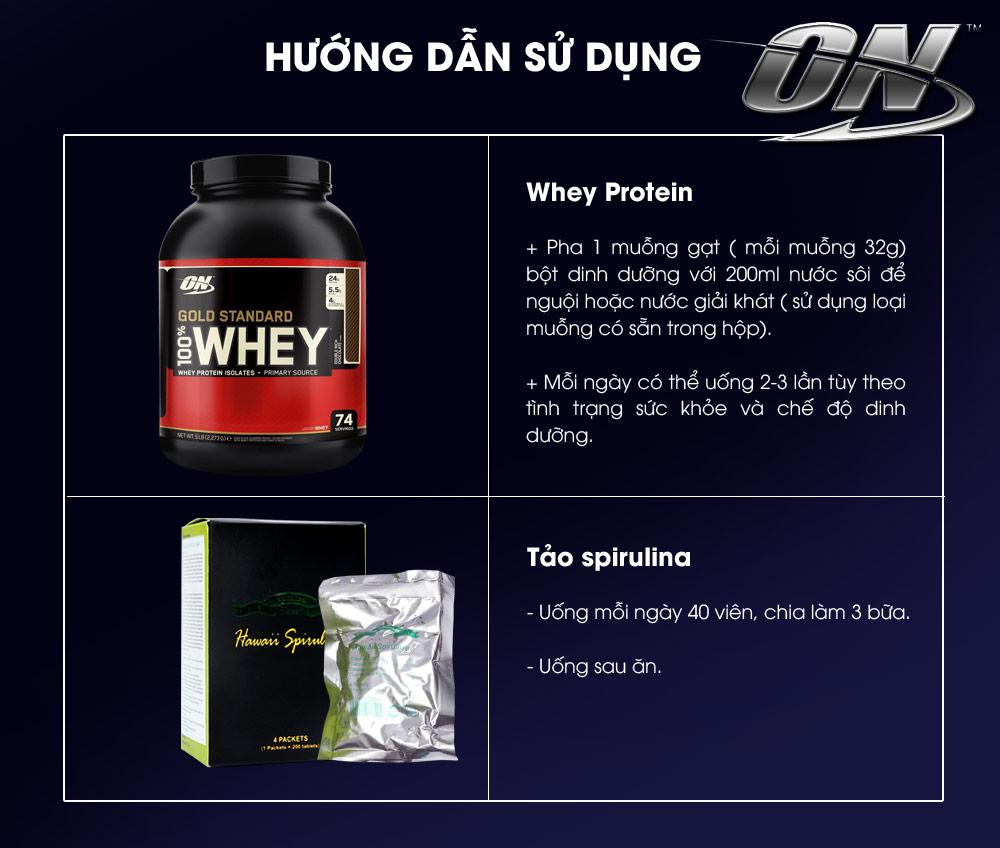 Bộ sản phẩm tăng cơ bắp cao cấp TH1 4