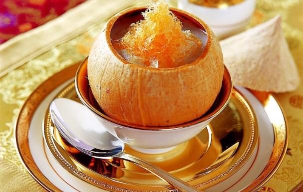 Một cách chưng yến với nước cốt dừa được nhiều người yêu thích