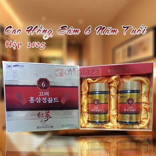 Cao hồng sâm 6 năm tuổi Hàn Quốc