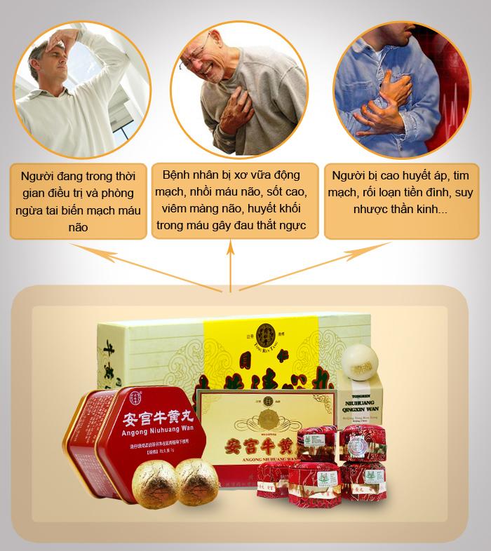 Công dụng của Bộ sản phẩm đột quỵ Việt Pháp 3