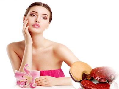 Nấm linh chi giúp phụ nữ làm đẹp da hiệu quả