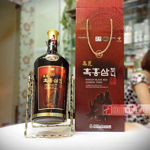 nước hồng sâm Hàn Quốc đóng chai