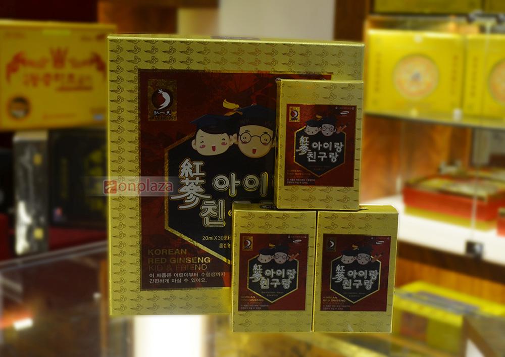 Trải nghiệm của khách hàng với nước hồng sâm baby Hàn Quốc