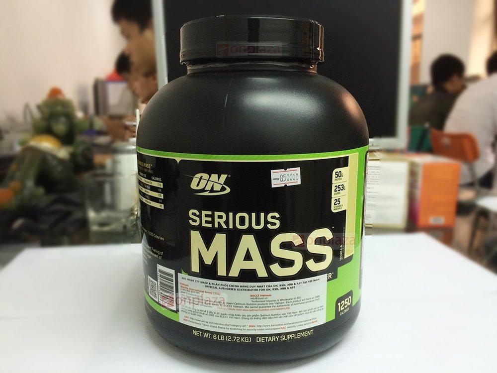 Sữa tăng cân Serious Mass Optimum Nutrition