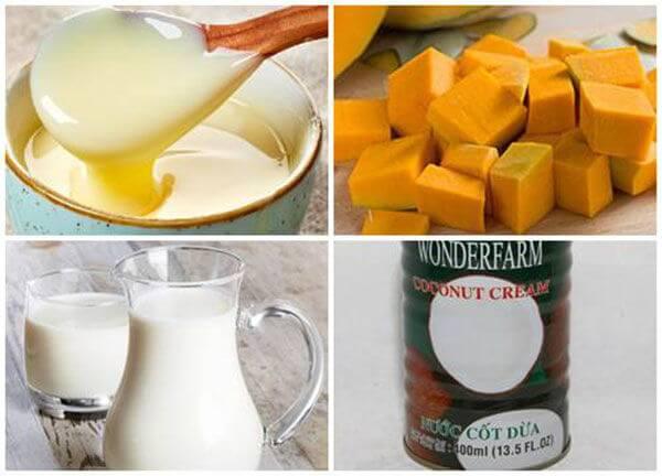 Sữa tăng cân tự nhiên tự chế
