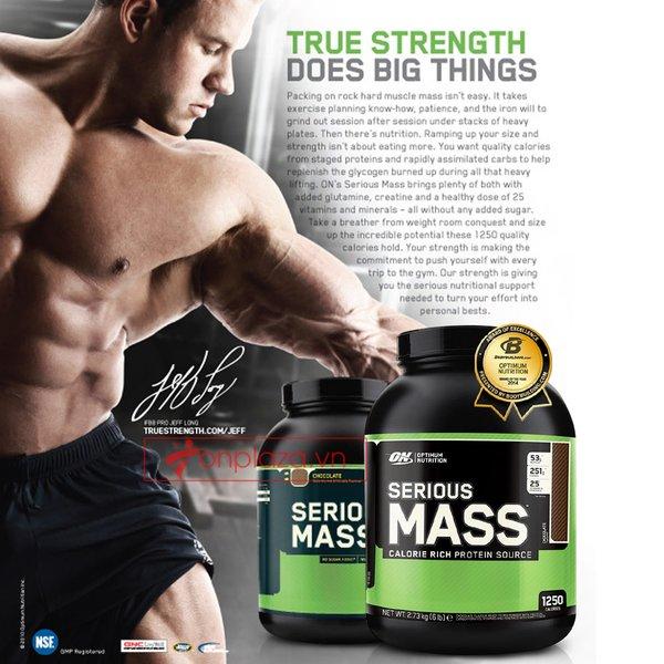 Sữa tăng cơ bắp hiệu quả cho người tập Gym, tập thể hình tăng cân tăng cơ
