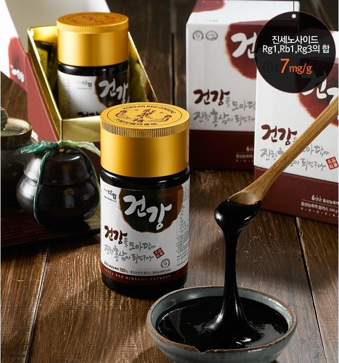 Tác dụng thực của hồng sâm Hàn Quốc 5